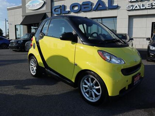 2008 Smart Fortwo Passion cabriolet AUTOMATIC. in Ottawa, Ontario
