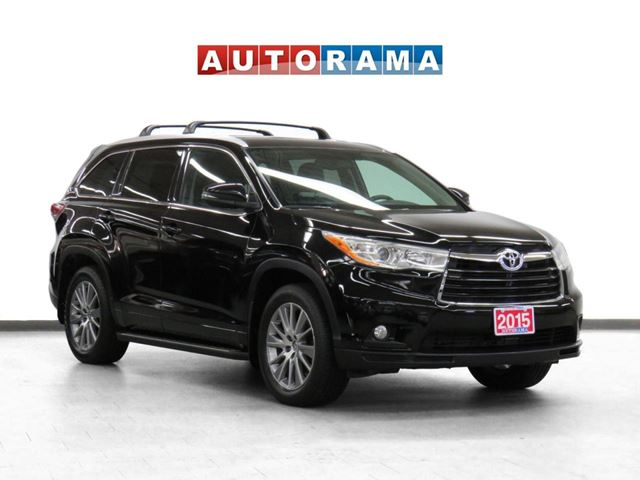 2015 Toyota Highlander XLE 4WD Navigation Leather Sunroof Backup Cam 7Pas in North York, Ontario
