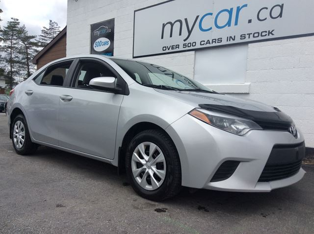 My Car North Bay >> 2016 Toyota Corolla Ce Powergroup Great Value Silver My