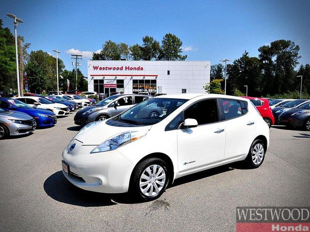 2017 Nissan Leaf S in Port Moody, British Columbia