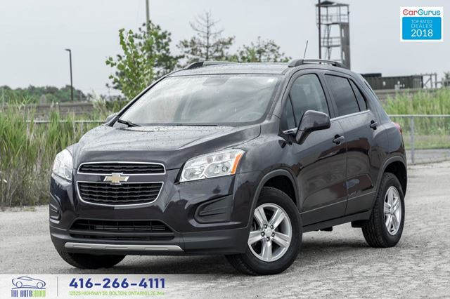 2015 Chevrolet Trax AWD LT CleanCarfax Certified Warranty We Finance in Toronto, Ontario