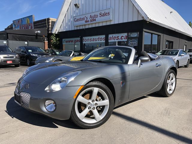 2006 Pontiac Solstice STILL TIME FOR SUMMER FUN! in St Catharines, Ontario