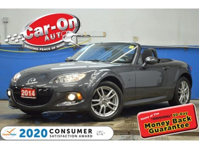 2014 Mazda MX-5 Miata  5 SPEED ONLY 42, 000 KM PWR GRP LOADED in Ottawa, Ontario