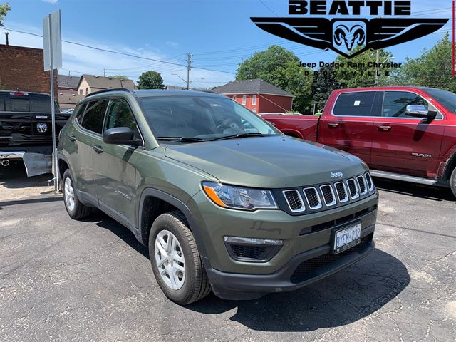 2018 Jeep Compass Sport DEMO/ BLUETOOTH/ BACKUP CAM in Brockville, Ontario