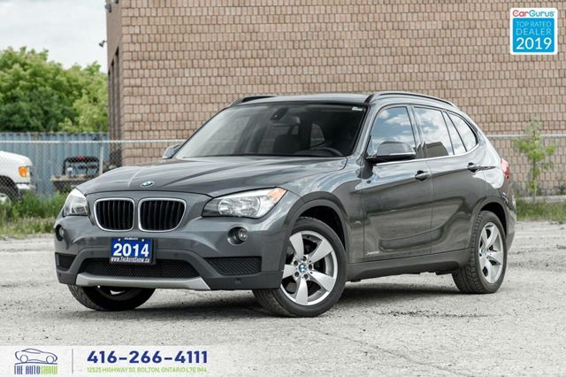 2014 BMW X1 28x AWD PanoRoof Clean Carfax Certified We Finance in Toronto, Ontario