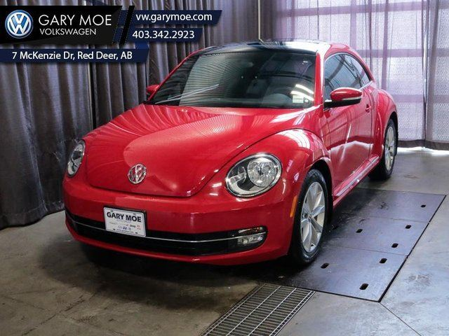 2013 Volkswagen New Beetle  HIGHLINE - Low Mileage in Red Deer, Alberta