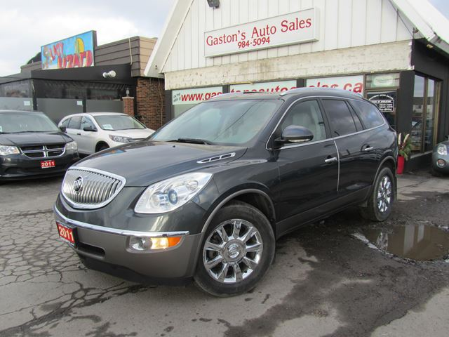 2011 Buick Enclave LOCAL TRADE! AWD! HEATED LEATHER! in St Catharines, Ontario