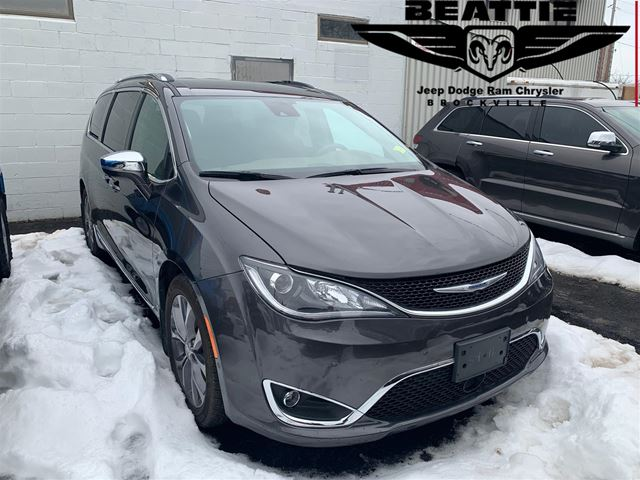 2018 Chrysler Pacifica Limited DVD/ SAFETY GROUP/ NAV in Brockville, Ontario