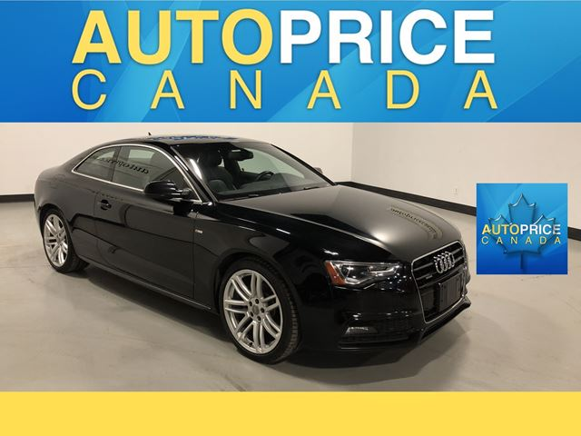 2016 Audi A5 2.0T Progressiv plus S-LINE|PANOROOF|NAVIGATION in Mississauga, Ontario