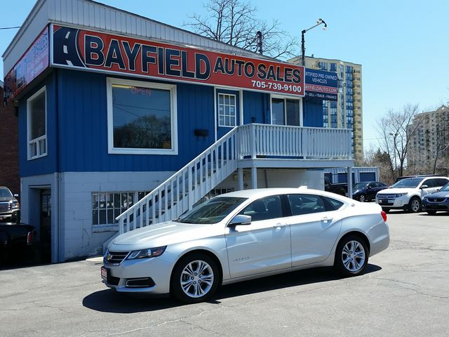 2015 CHEVROLET Impala LT **Remote Start/Bluetooth** in Barrie, Ontario