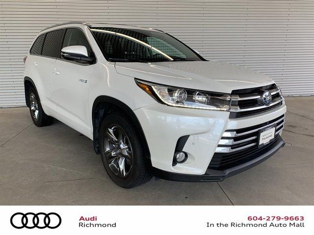 2018 TOYOTA Highlander Limited CVT in Richmond, British Columbia