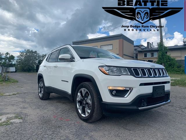 2019 JEEP Compass Limited 4x4 DEMO/ NAV/ LEATHER in Brockville, Ontario