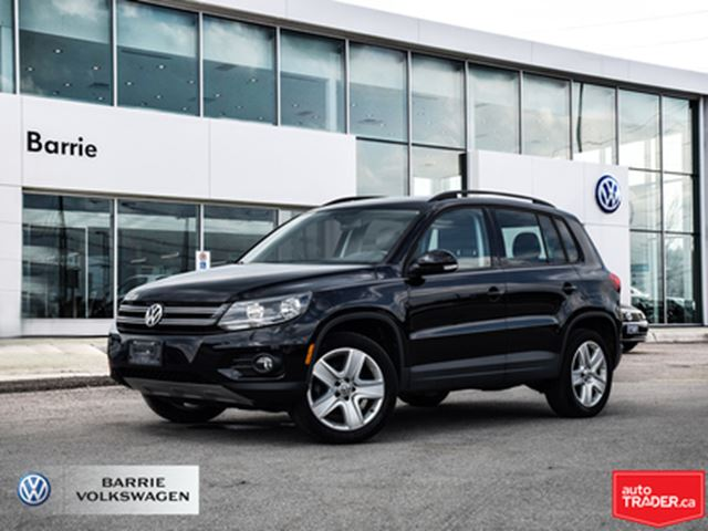2016 VOLKSWAGEN Tiguan Bluetooth Connection,Back-Up Camera in Barrie, Ontario