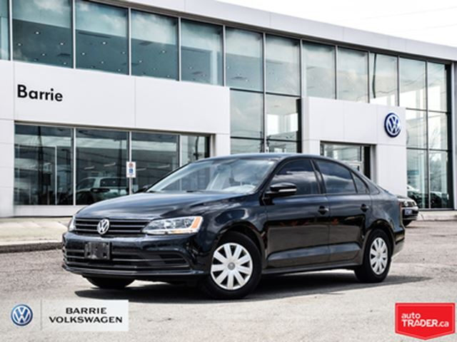 2016 VOLKSWAGEN Jetta  Bluetooth Connection,Back-Up Camera in Barrie, Ontario