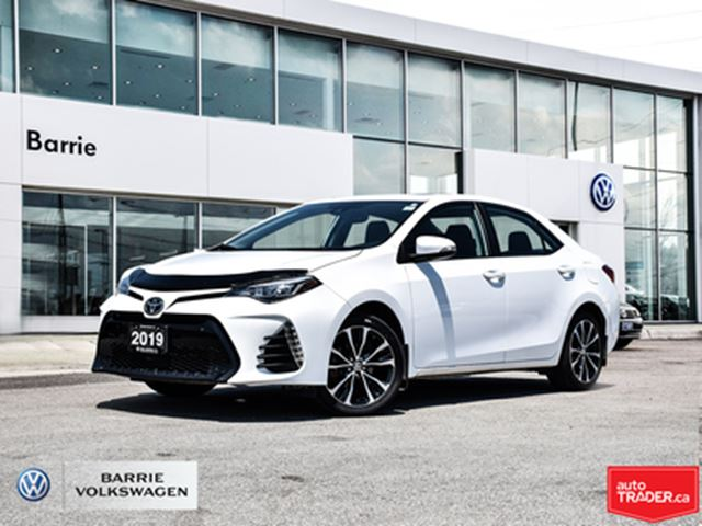 2019 TOYOTA Corolla Bluetooth Connection,Back-Up Camera,Stability Cont in Barrie, Ontario