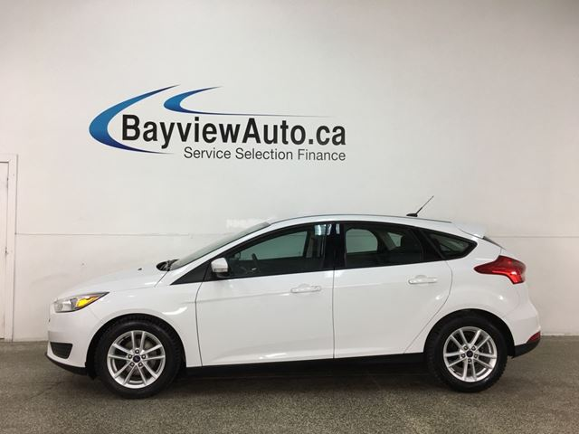 2018 FORD Focus SE - ONLY 3100KMS! AUTO! A/C! PWR GROUP! ALLOYS! in Belleville, Ontario