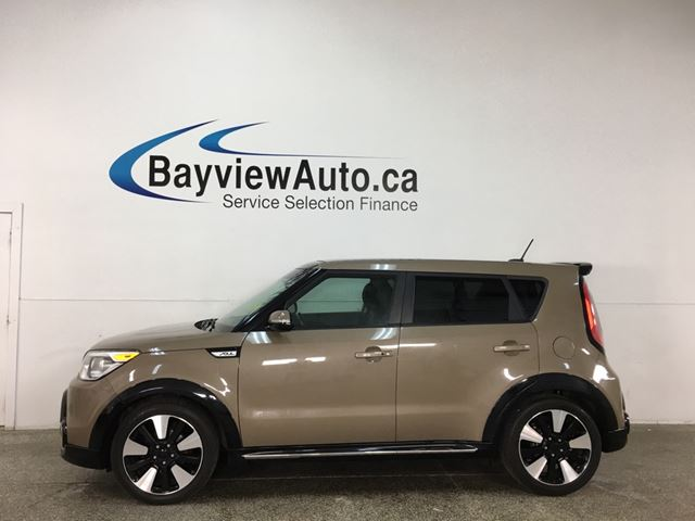 2016 KIA Soul Urban Special Edition - PANOROOF! HTD LEATHER! 40,000KMS! in Belleville, Ontario