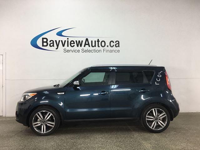 2017 KIA Soul EX+ - ONLY 6000KMS! HTD LEATHER! PANOROOF! ALLOYS! in Belleville, Ontario