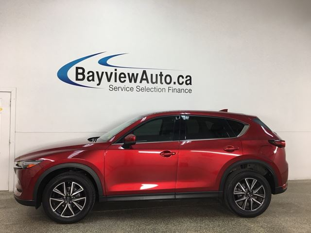 2018 MAZDA CX-5 GT - AWD! HTD LEATHER! NAV! SUNROOF! + MORE! in Belleville, Ontario