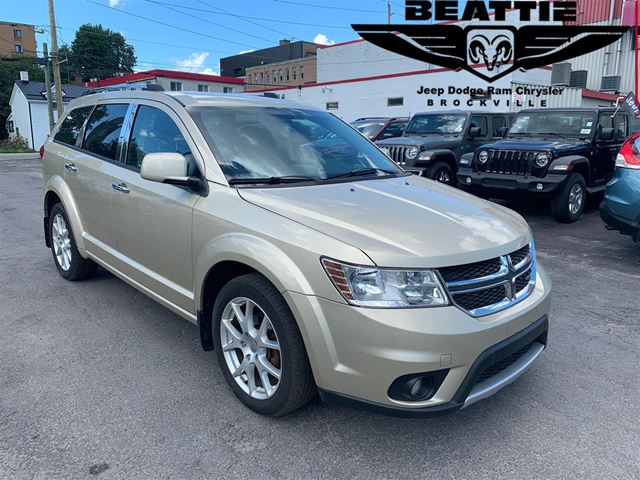 2011 DODGE Journey R/T LEATHER/ DUEL ZONE TEMP/ ONE OWNER in Brockville, Ontario