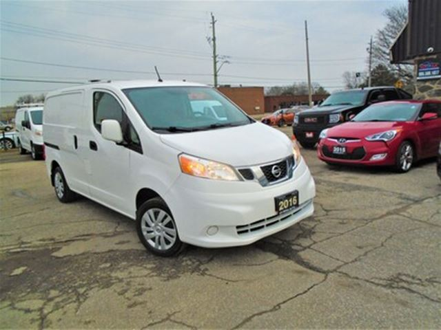2016 Nissan Nv Cargo Auto Safety Gas Saver Cargo Van B Tooth Shilves White For 15000 In Oakville Durhamregion Com