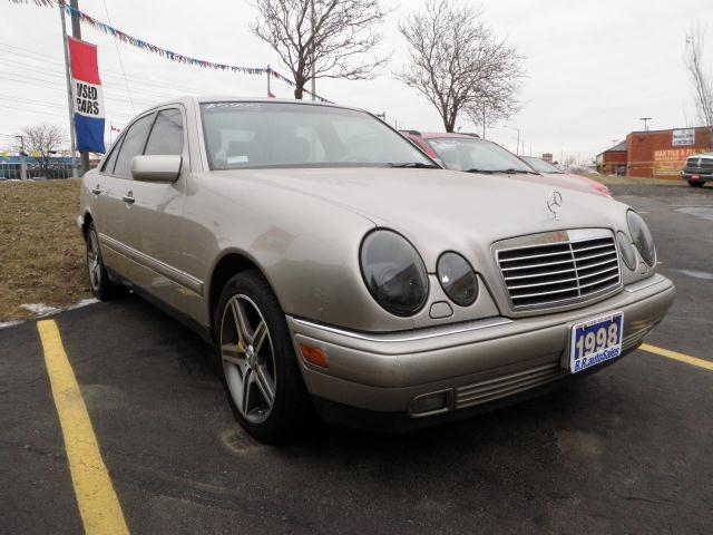 1998 mercedes benz e class e320 leather sunroof for Mercedes benz sunroof