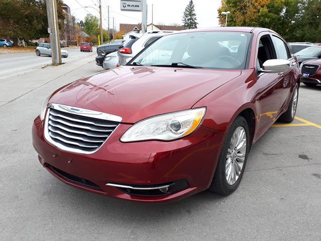 2011 chrysler 200 limited red manley motors limited for Manley motors used cars
