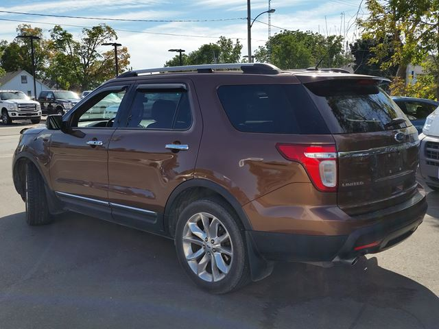2011 ford explorer limited awd lindsay ontario used car for sale 854028. Black Bedroom Furniture Sets. Home Design Ideas