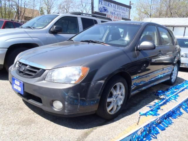 2005 kia spectra 5 brampton ontario used car for sale. Black Bedroom Furniture Sets. Home Design Ideas