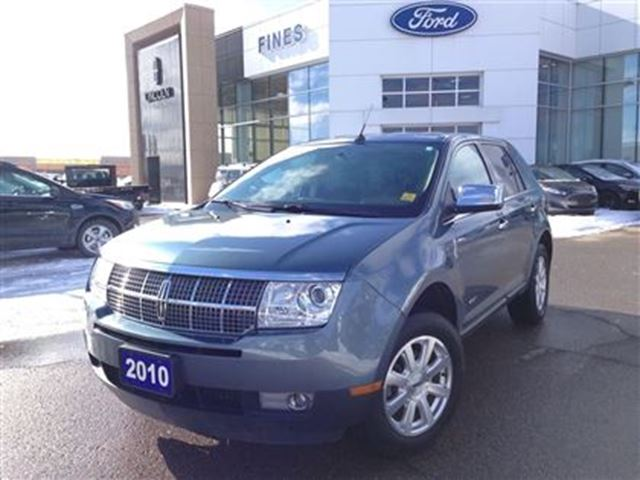 2010 Lincoln Mkx Leather Low Km Blue Fines Ford Lincoln