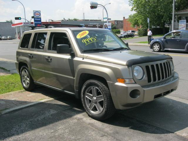 2008 Jeep Patriot AWD + TOIT OUVRANT in Montreal, Quebec
