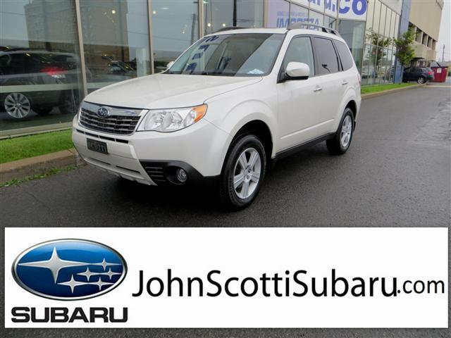 2010 Subaru Forester X Touring MAN VENDU in St Leonard, Quebec