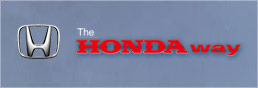 THE HONDA WAY