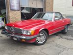 1988 Mercedes-Benz 560-Class 560 560SL California Car Extremely Low Miles Very Clean!!! in St Catharines, Ontario