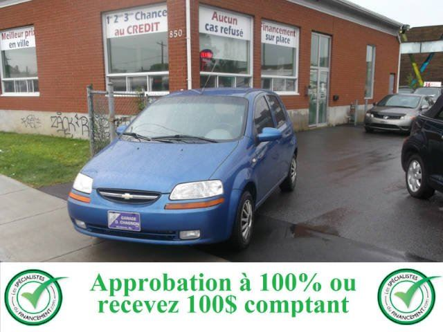 2005 CHEVROLET Aveo            in Longueuil, Quebec