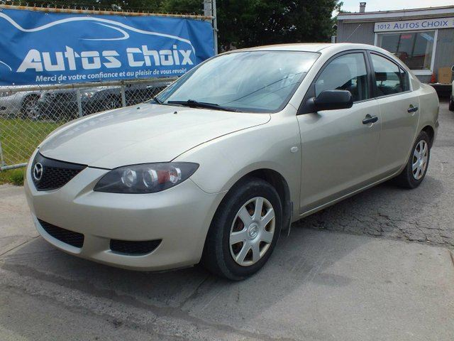 used 2005 mazda mazda3 gx 4dr sedan longueuil. Black Bedroom Furniture Sets. Home Design Ideas