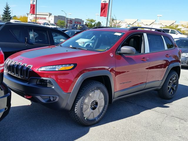 2016 JEEP Cherokee Trailhawk 4x4 in Vaughan, Ontario