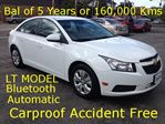 2014 Chevrolet Cruze LT GM 5 year Warr. in Hamilton, Ontario