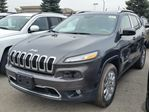 2016 Jeep Cherokee Limited 4x4 in Vaughan, Ontario