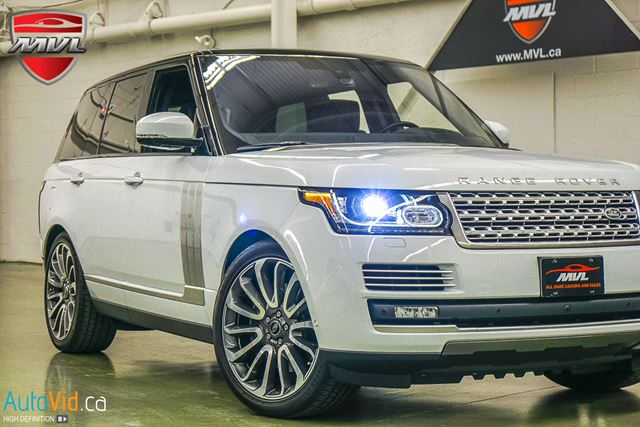 2016 LAND ROVER Range Rover 5.0L V8 Supercharged Autobiography SC AUTOBIOGR in Oakville, Ontario