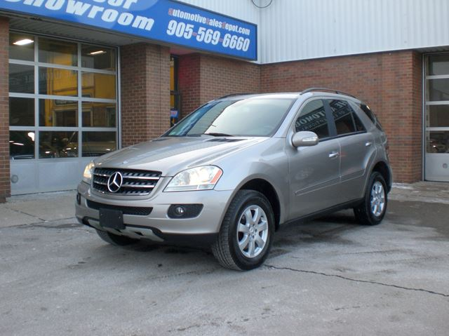 2007 MERCEDES-BENZ M-Class ML320 CDI + Navigation + Back up Camera in Mississauga, Ontario