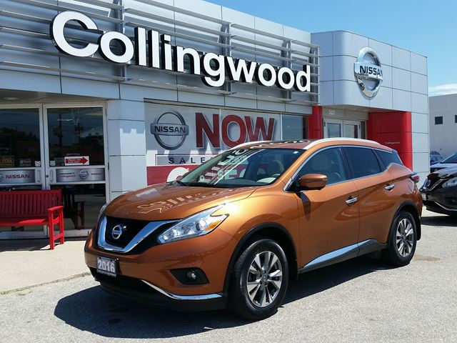 2016 NISSAN Murano SL AWD *1 OWNER* in Collingwood, Ontario