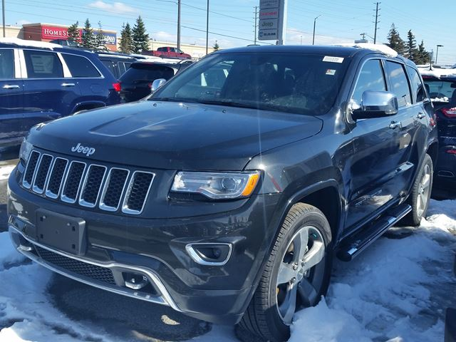 2016 JEEP Grand Cherokee Overland 4x4  in Vaughan, Ontario
