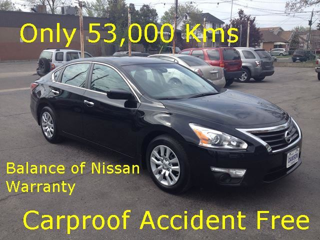 2014 NISSAN Altima 2.5 Carproof Accident free! in Hamilton, Ontario