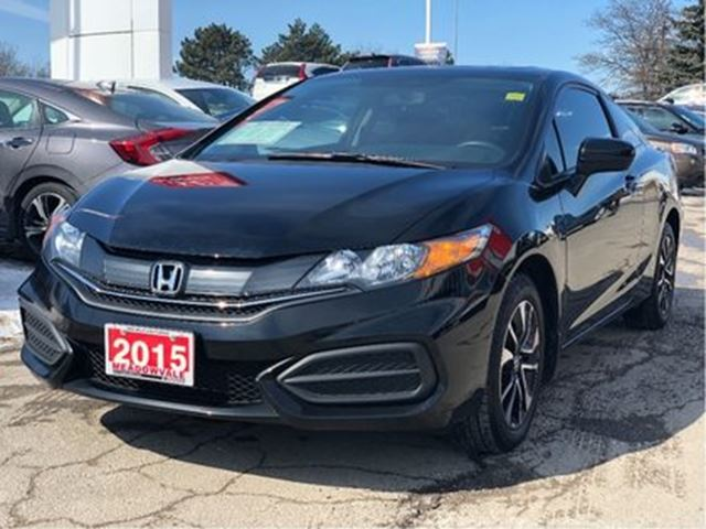 2015 HONDA Civic Coupe EX  Alloy Wheels  One Owner in Mississauga, Ontario