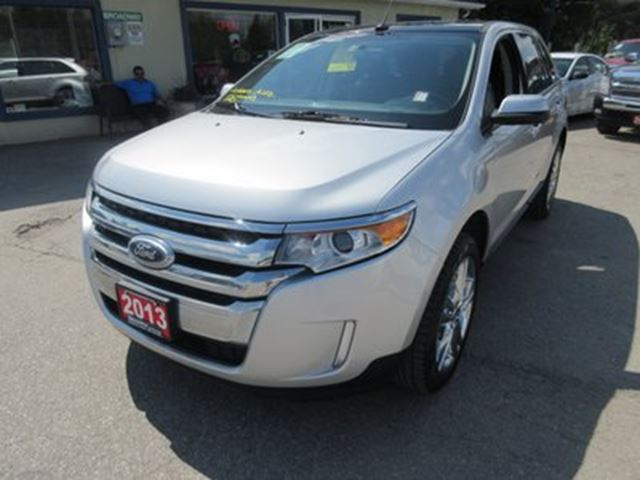 2013 FORD Edge LOADED SEL MODEL 5 PASSENGER AWD.. 3.5L - V6..  in Bradford, Ontario
