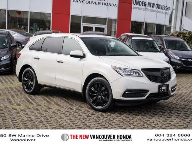 USED 2016 Acura MDX 3.50 Tech - Vancouver | Wheels.ca