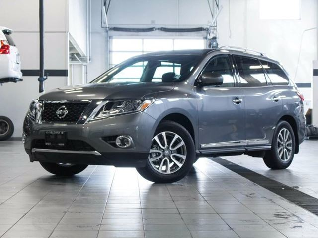 USED 2016 Nissan Pathfinder 3.50 SL All-wheel Drive with Premium ...
