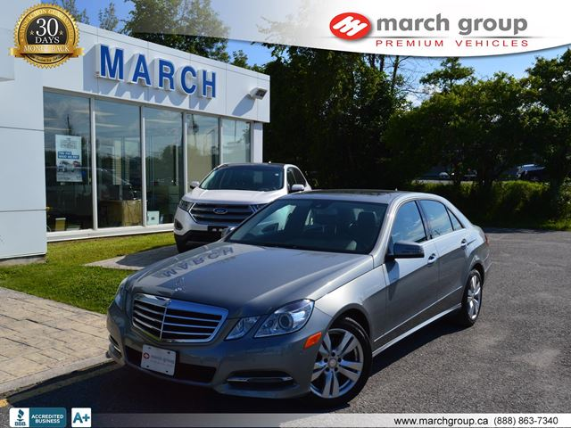 2013 Mercedes-Benz E300 Accident free with Navigation and