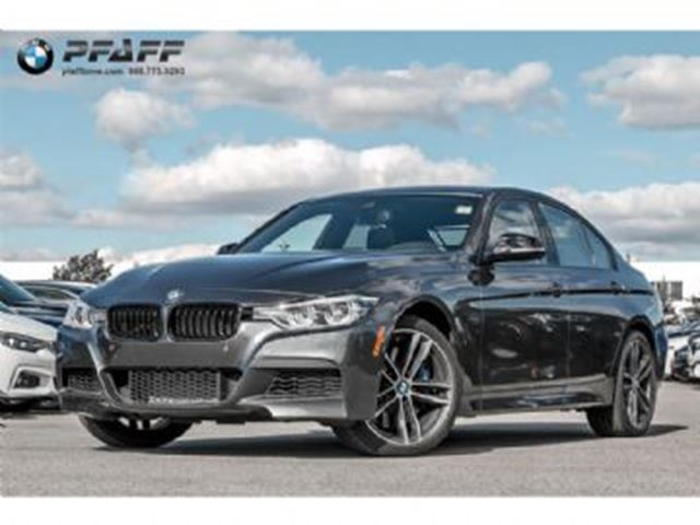 2018 BMW 3 Series 340i xDrive with Premium Enhanced Package in Mississauga, Ontario